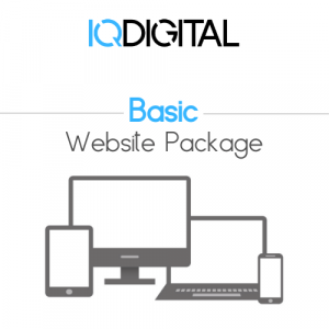 Basic Website Packiage by IQ Digital